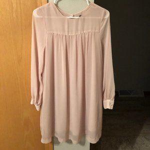 H&M long sleeve minidress
